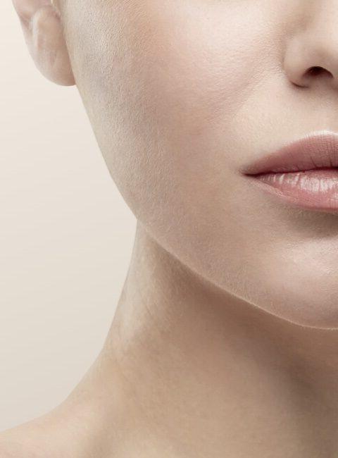 Haut und Lippen